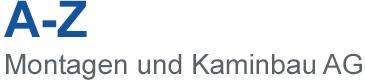 A-Z Montagen und Kaminbau AG Logo Text
