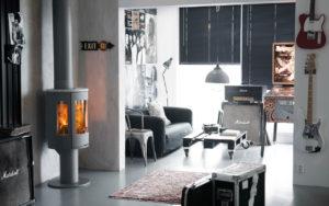 586 Style grau und Specksteinabdeckung